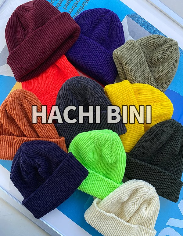 No.8645 hachi short BINI (12color)
